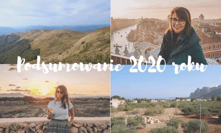 Podróżnicze podsumowanie 2020 roku