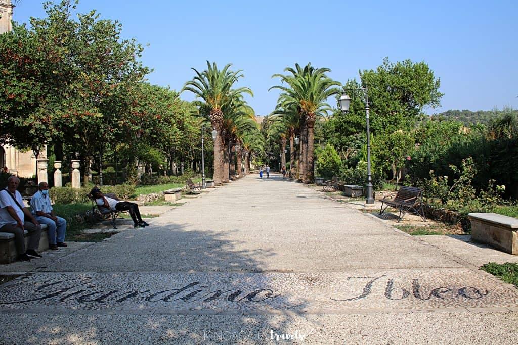 Ragusa - Giardino Ibleo.